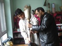 Orthopädische Werkstatt in Afghanistan