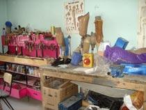 In der Werkstatt in Kunduz